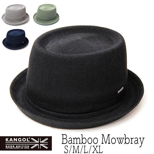 """""""KANGOL(カンゴール)"""" バンブーポークパイハット BAMBOO MOWBRAY"""