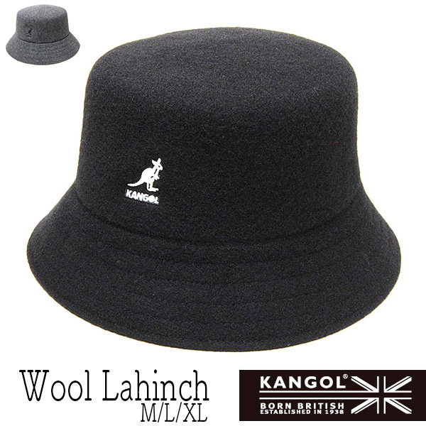 """KANGOL(カンゴール)"" ウールバケットハット WOOL LAHINCH"