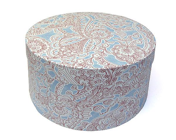 ハットボックス帽子用丸箱