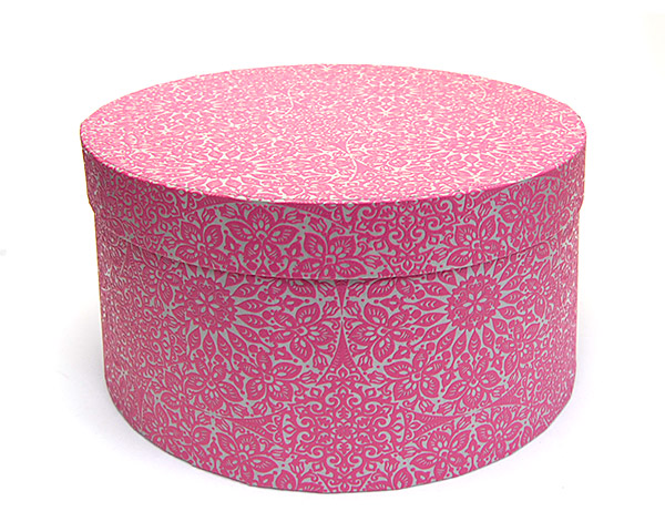 帽子用ボックス(丸箱) [kaw-b-box5] 【コンビニ受取対応】 (kaw-b-box5)