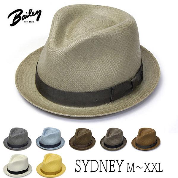 """アメリカ""""Bailey(ベイリー)""""パナマ中折れ帽<SYDNEY>"""