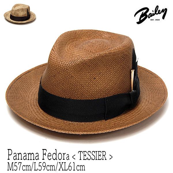 """アメリカ""""Bailey(ベイリー)""""パナマ中折れ帽TESSIER"""