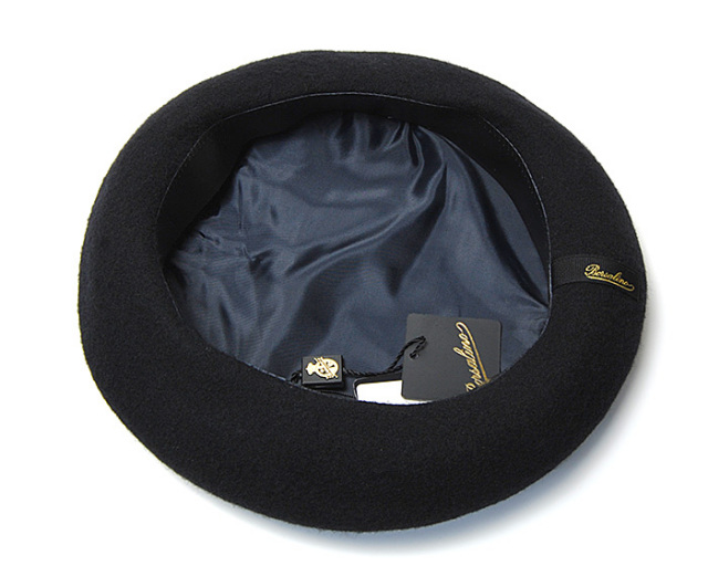 Borsalino ボルサリーノ ウールフエルトベレー帽 B80005