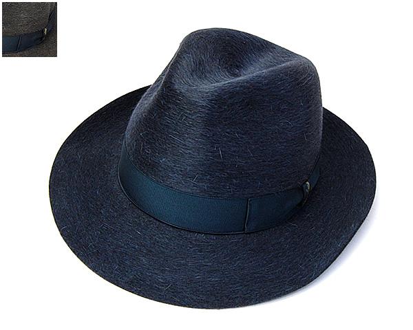 Borsalinoファーフエルト中折れ帽(GRIFONE SILCHI、115421)