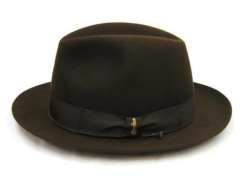Borsalino(ボルサリーノ)ファーフェルト中折れ帽(ビーバー)