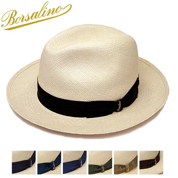"""イタリア製""""Borsalino(ボルサリーノ)""""パナマ中折れ帽(140228)"""