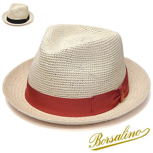 """イタリア製""""Borsalino(ボルサリーノ)""""パナマ中折れ帽(141079)"""