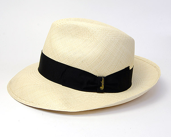 Borsalino(ボルサリーノ)つば広パナマ中折れ帽(141088)