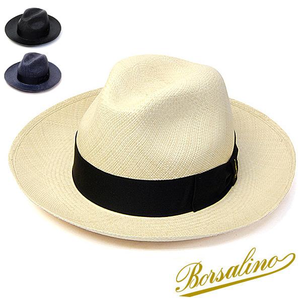イタリア製Borsalino(ボルサリーノ)つば広パナマ中折れ帽 141088