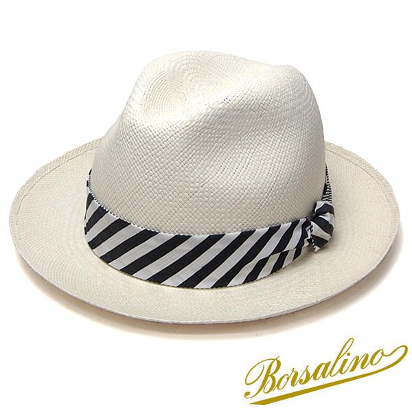 """イタリア製""""Borsalino(ボルサリーノ)""""パナマ中折れ帽(141121)"""