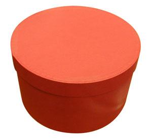 帽子用ボックス(リボン無し) 丸箱 *帽子と一緒にご注文下さい 対応外帽子あり 【コンビニ受取対応】 (kaw-box)