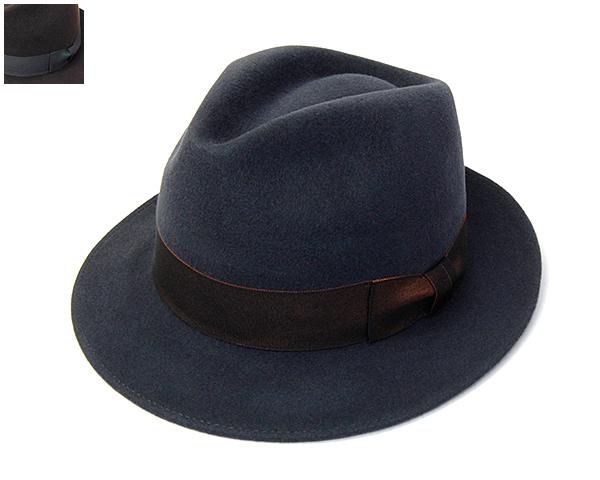 文二郎ミドルアンテダンディスタイル中折れ帽