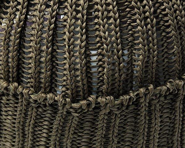 cableami(ケーブルアミ)コットンニットキャップ