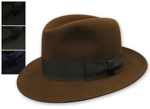 """イギリス王室御用達""""JamesLock(ジェームスロック)""""ファーフエルトソフト帽(CHELSEA)[大きいサイズの帽子アリ][小さいサイズあり]  【コンビニ受取対応】 (kaw-jl-chelsea)"""