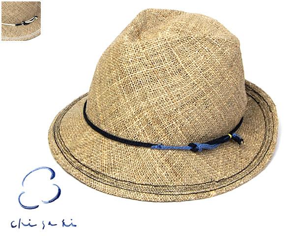 chisakiチサキストロー中折れ帽(lattie)