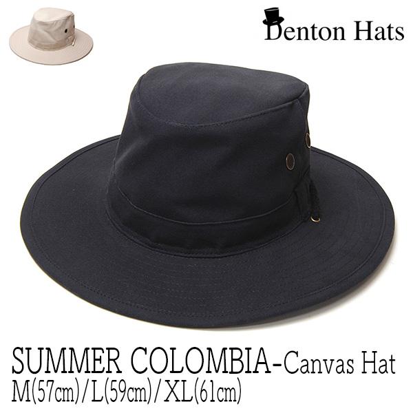 """イギリス""""DENTON HATS(デントン)"""" キャンバスハット[SUMMER COLOMBIA]"""