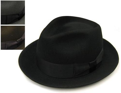 """""""DRAGON HAT(ドラゴンハット)""""ウールフエルト中折れ帽[大きいサイズの帽子アリ][小さいサイズあり]  (kaw-drg-cd0225)"""