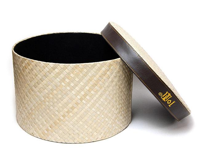 NOL(ノル)帽子用丸箱 ハットボックス