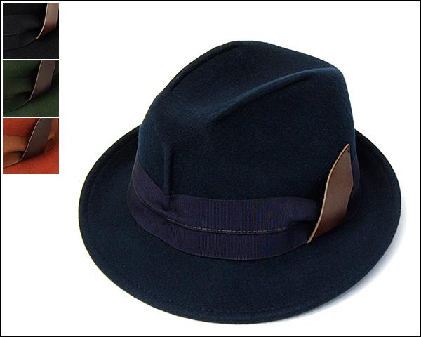 HATS&DREAMSウールフエルト中折れ帽