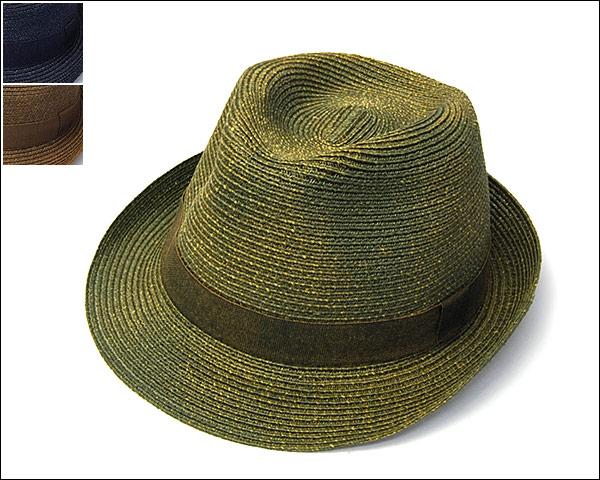HATS&DREAMSブレード中折れ帽