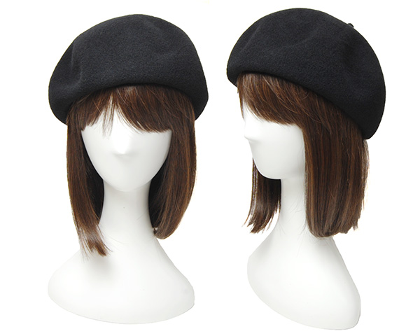 """イタリア""""HATS&DREAMS""""ラビットファーフエルトベレー帽"""