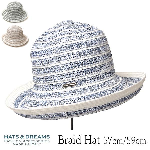 """イタリア""""HATS&DREAMS(ハッツアンドドリームス)"""" ブレードハット"""