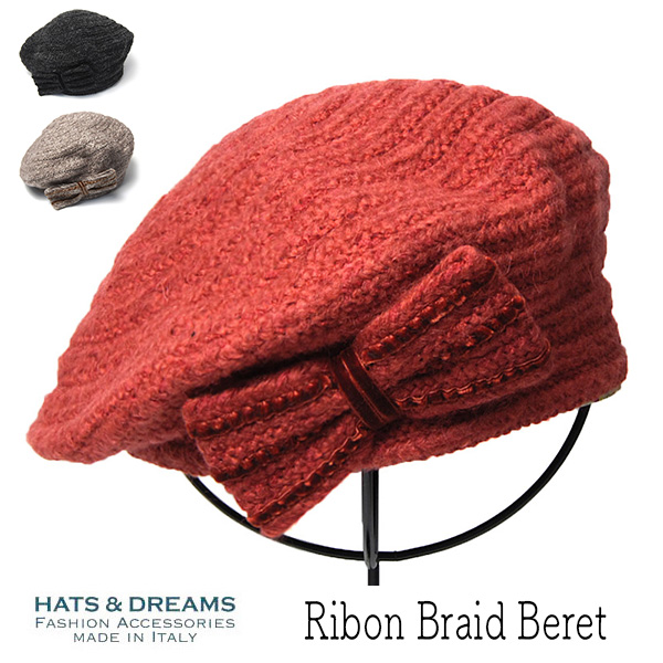"""HATS&DREAMS(ハッツアンドドリームス)"" ニットブレードベレー"