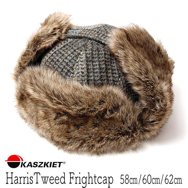 """ポーランド""""KASZKIET(カシュケット)"""" ハリスツイード飛行帽"""