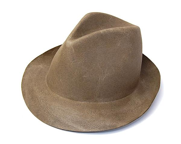 REINHARD PLANKファーフエルト中折れ帽(COBO)