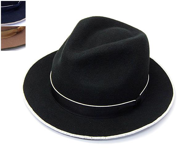 Retterウールフエルト中折れ帽(FeltLock)