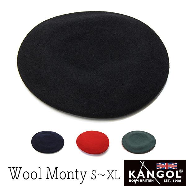 """KANGOL(カンゴール)""モンティベレー(WOOL MONTY)[大きいサイズの帽子アリ][小さいサイズの帽子](kaw-kg-0248ht)"