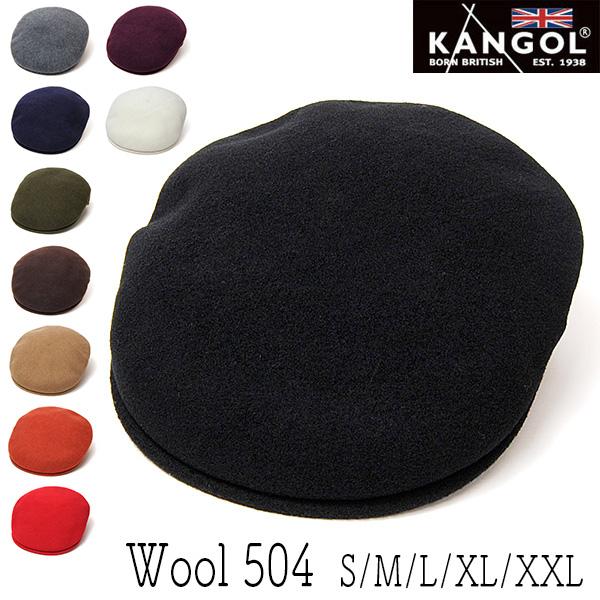 """KANGOL(カンゴール)""ウールハンチング [WOOL504]"