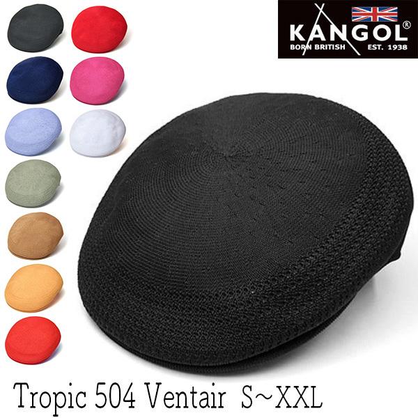 """""""KANGOL(カンゴール)"""" ハンチング[TROPIC 504 VENTAIR]"""