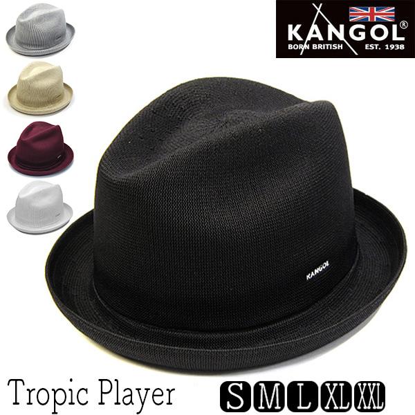 """""""KANGOL(カンゴール)""""ニット中折れ帽[TROPIC PLAYER][大きいサイズの帽子アリ][小さいサイズあり] 【コンビニ受取対応】 (kaw-kg-6371bc) アウトレットS"""