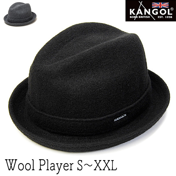 """""""KANGOL(カンゴール)""""ウール中折れ帽 (WOOL PLAYER)[ ハット] 【送料無料】[大きいサイズの帽子アリ][小さいサイズあり] 【コンビニ受取対応】 (kaw-kg-6447bc)"""