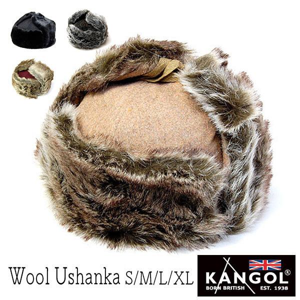 """KANGOL(カンゴール)""ファー付き飛行帽[WOOL USHANKA]"
