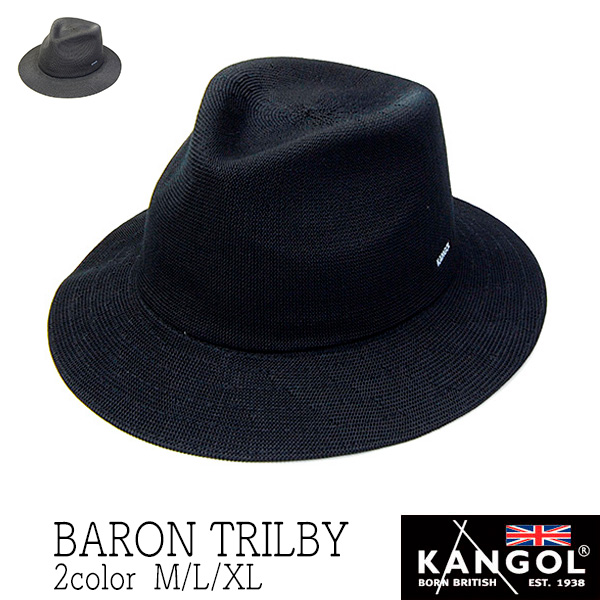 KANGOL(カンゴール)ニット中折れ帽(BARON TRILBY)