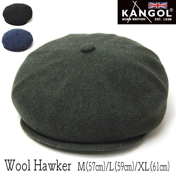 """""""KANGOL(カンゴール)""""ウール8枚はぎハンチング[WOOL HAWKER]"""