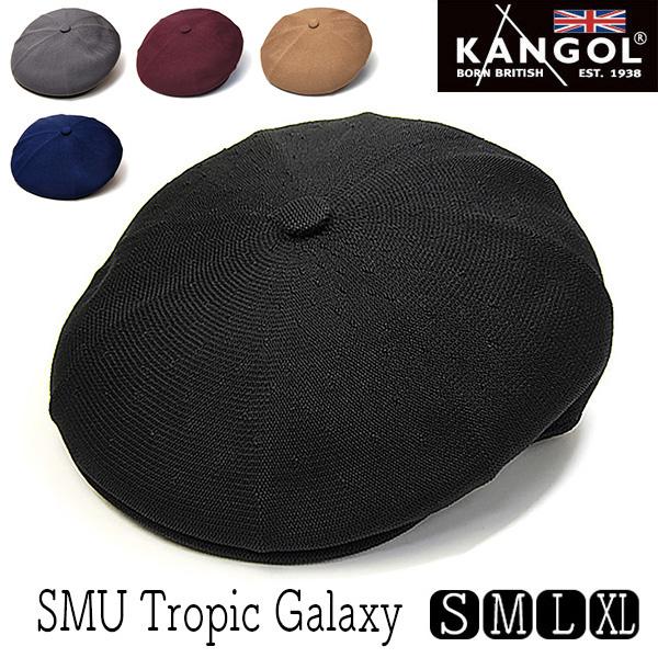 KANGOL(カンゴール)トロピック8枚はぎハンチングTROPIC GALAXY