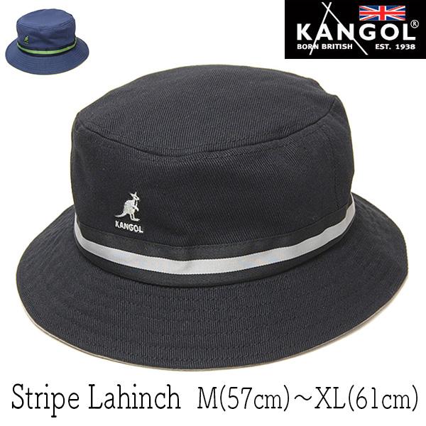 KANGOL(カンゴール)コットンバケットハットSTRIPE LAHINCH