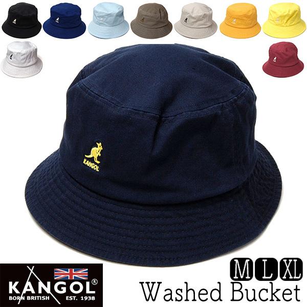 KANGOL(カンゴール)コットンバケットハットWASHED BUCKET