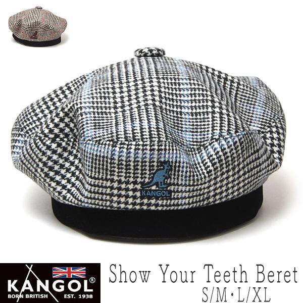 """KANGOL(カンゴール)"" チェックベレー Show Your Teeth Beret"