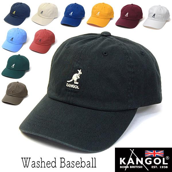 """KANGOL(カンゴール)""""ウォッシュコットンキャップ[Washed Baseball]"""