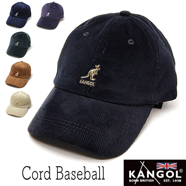 """""""KANGOL(カンゴール)""""コーデュロイキャップ [CORD BASEBALL]"""