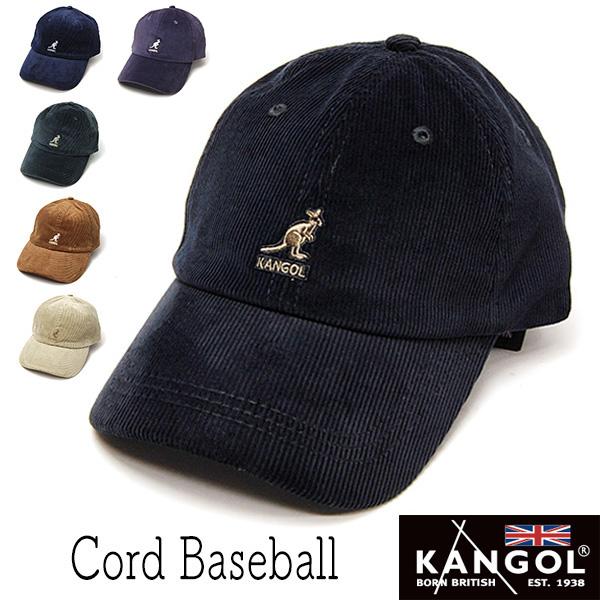 """""""KANGOL(カンゴール)""""コーデュロイキャップ CORD BASEBALL"""