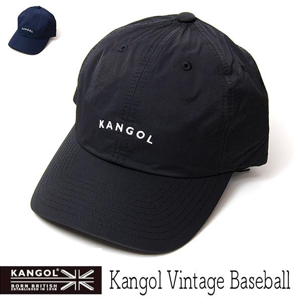 """""""KANGOL(カンゴール)""""ナイロンツイルキャップ [KANGOL VINTAGE BASEBALL]"""