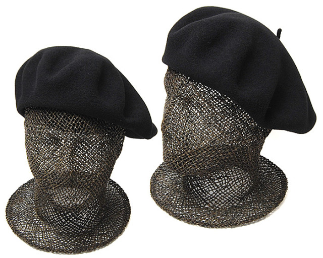 """フランス""""LAULHERE(ローレール)""""バスクベレー(CAMPAN・11インチ)ベレー帽"""