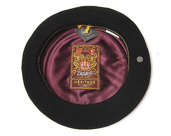"""フランス""""LAULHERE(ローレール)""""バスクベレー(CAMPAN・10インチ)ベレー帽"""