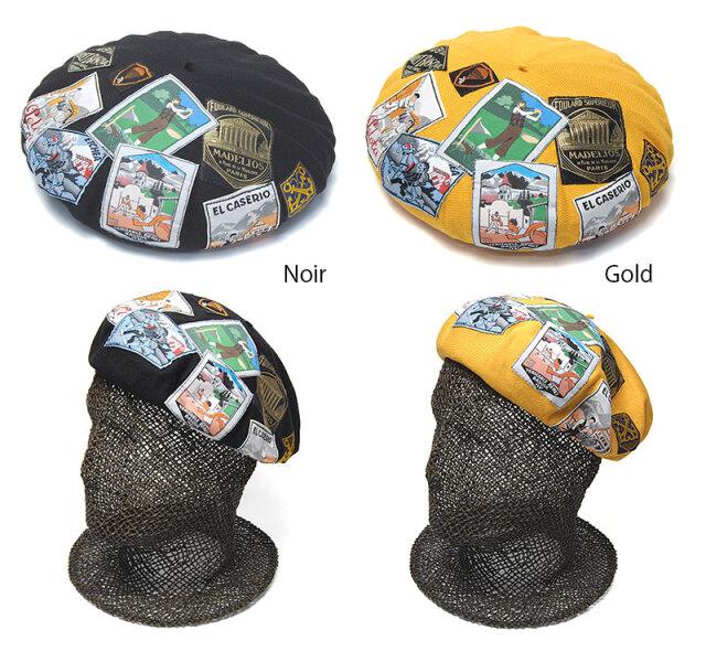 LAULHERE(ロレール)コットンベレー帽MILLESIMEミレジム