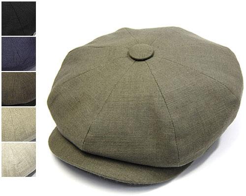 """イギリス王室御用達""""JamesLock(ジェームスロック)""""リネン8枚はぎハンチング[LINEN MUIRFIELD・SANDWICH][大きいサイズの帽子アリ][小さいサイズあり]SS17B1  【コンビニ受取対応】 (kaw-jl-linensw2) lnn"""